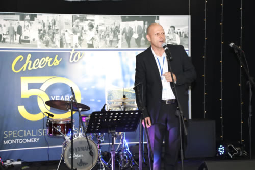 Managing Director speaks at Industry Celebration 50th