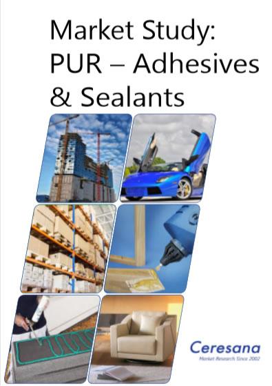Ceresana Analyzes the Global Market for Adhesives and Sealants Based on Polyurethane